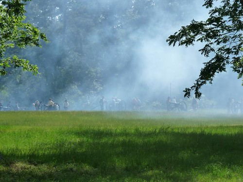 smoke civilwar reenactment dfwareameetup battleofportjefferson