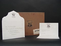 "May 25 2011 [Day 205] Bonus ""Harry's Hogwarts Acceptance Letter Alternative B"""