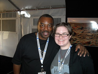 @levarburton and @ohlauren at #NASAtweetup