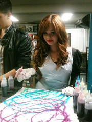 Debby Ryan en su 18o b-day party por ilovetocreate