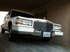automobile, automotive exterior, vehicle, cadillac brougham, bumper, land vehicle, luxury vehicle,
