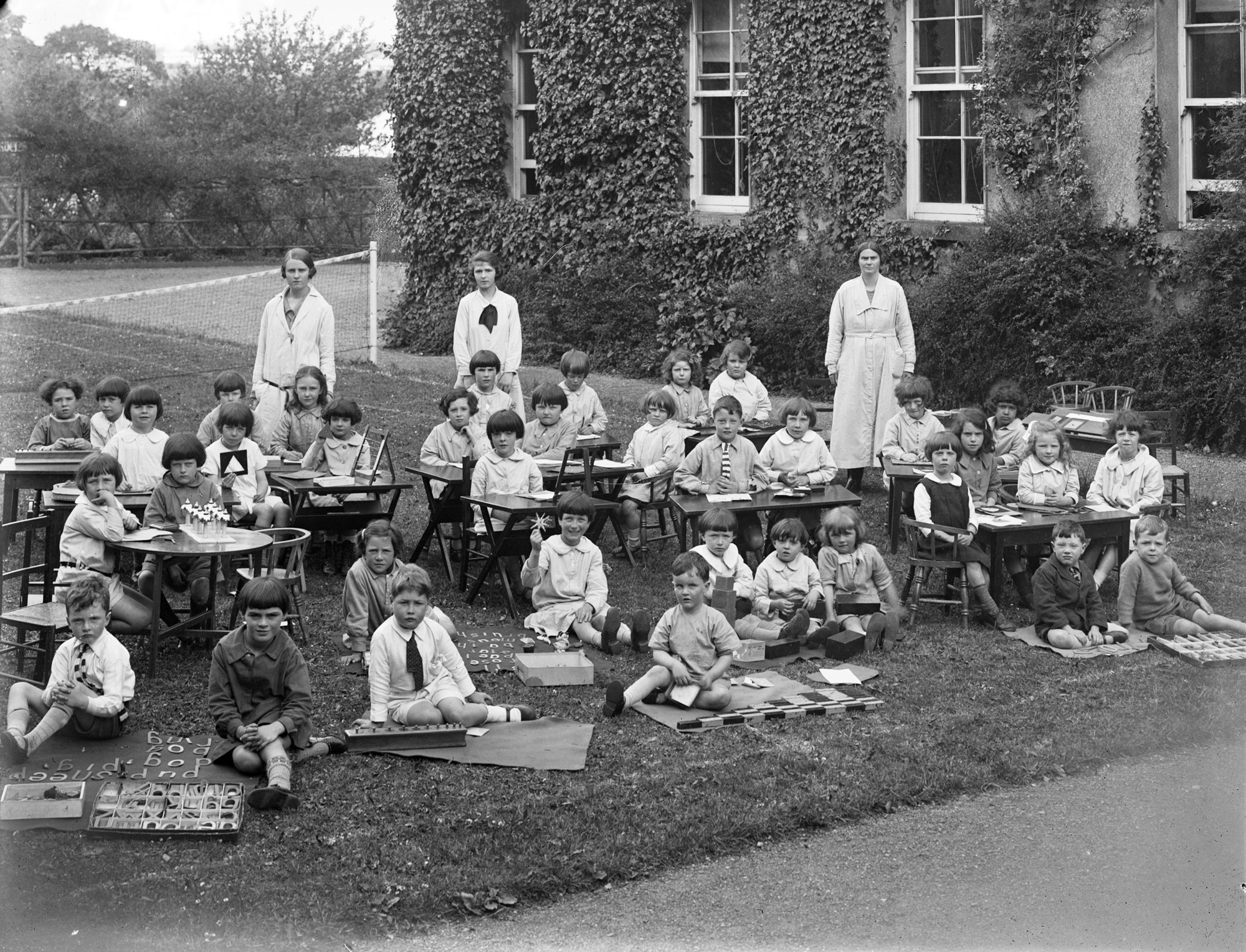 St. Anne's Kindergarten Class