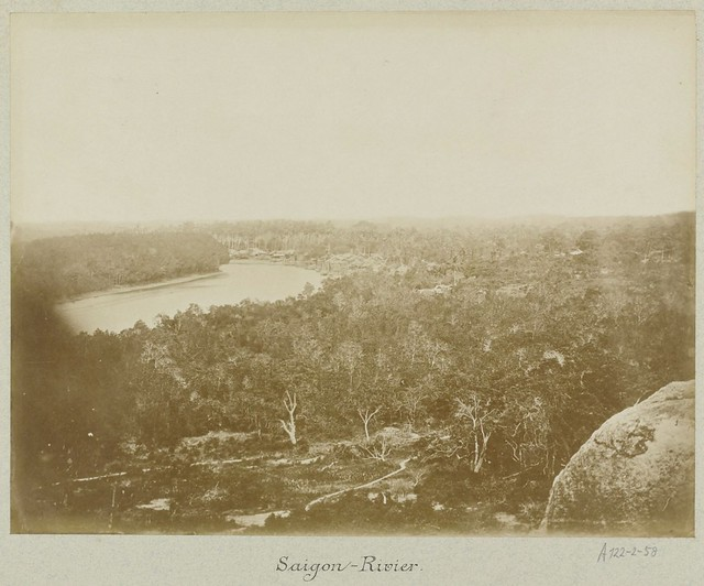 The Saigon River in Vietnam ca 1870