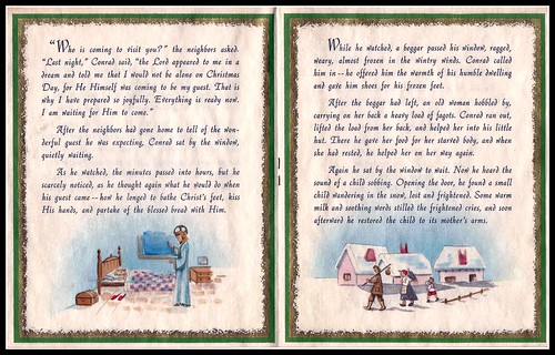 The Story of The Christmas Guest, pages 3 and 4