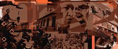 """Emancipación y Resistencia / Portada del libro """"Chávez vs. Bush"""" de Eva Golinger / ORH+ 2010"""