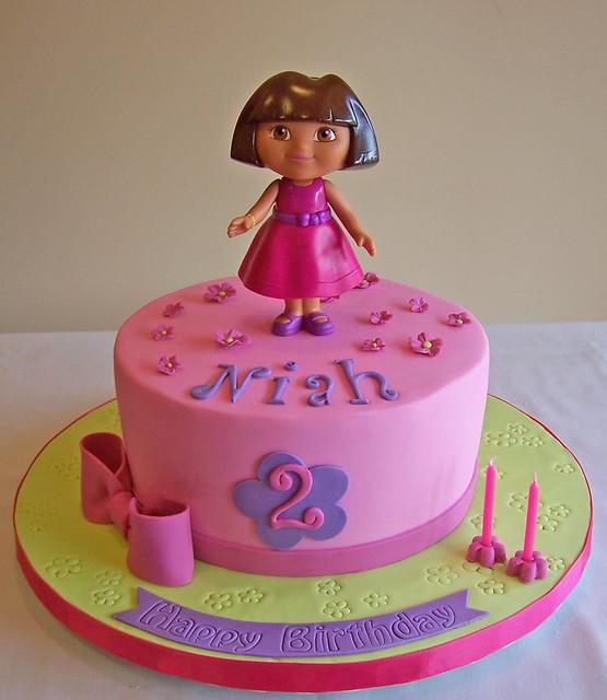Dora Cake Flickr Photo Sharing