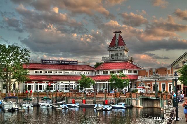 Disney Port Orleans Riverside Hotel Hdr All Rights Reser Flickr Photo Sharing