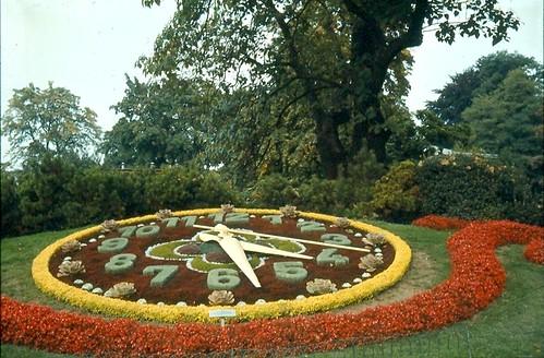 Switzerland - Geneva, Flower Clock