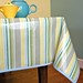 Heather Bailey Laminated Cotton tablecloth strips