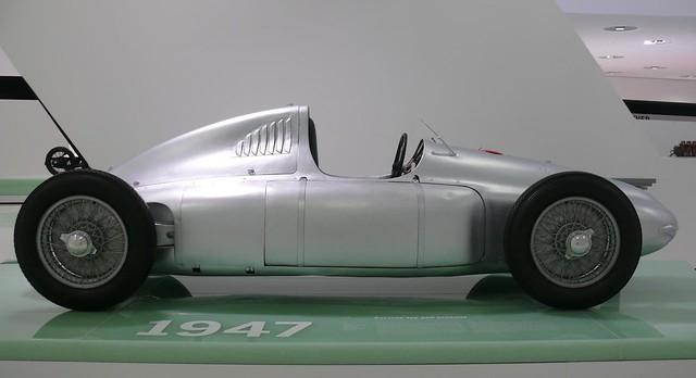 Porsche Typ 360 Cisitalia silver 1947 r
