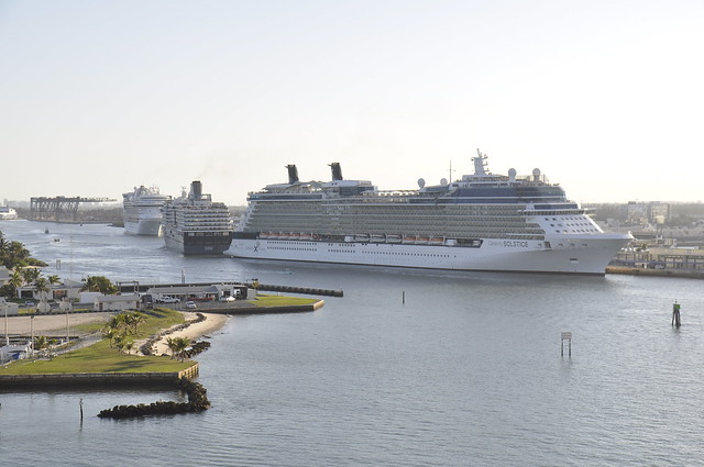 Celebrity Solstice, Noordam, Emerald Princess