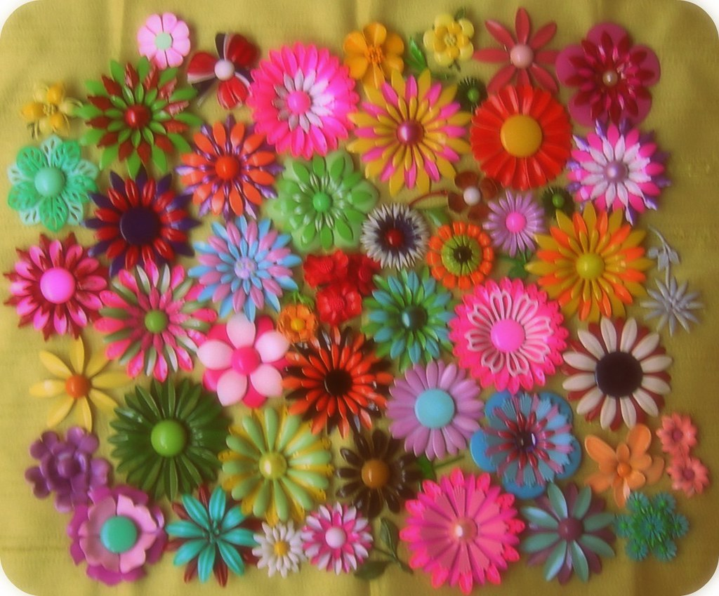 Springtime Flowers on an Autumn Day