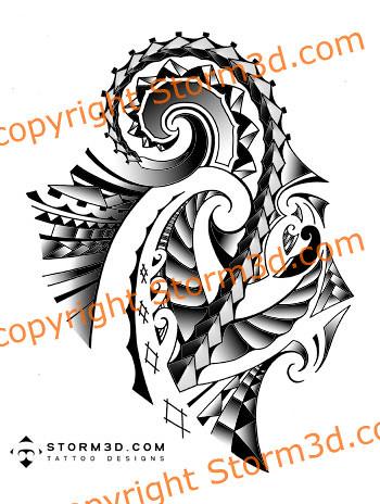 maorishouldersleevetattoosamoan