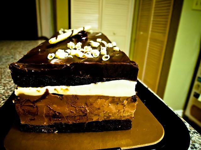 Tuxedo Truffle Mousse Cake Recipe