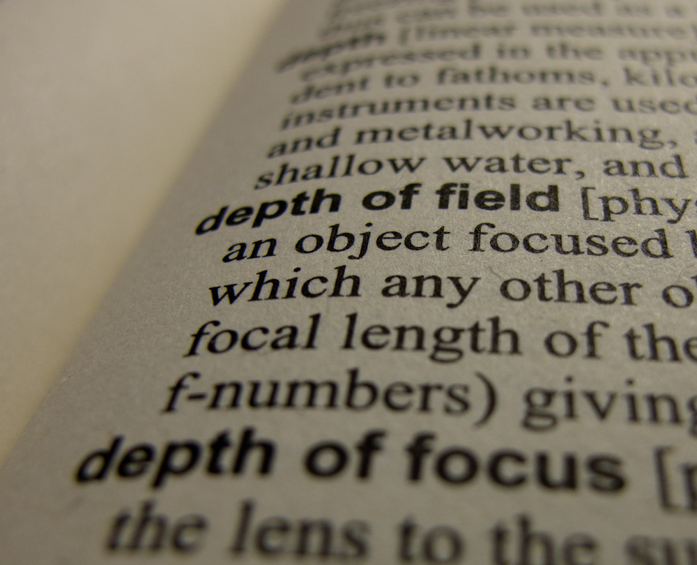 Depth Of Field Photography Definition: Depth Of Field By Definition