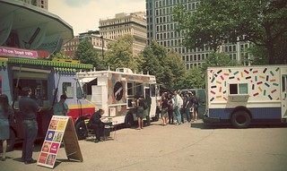 fancy foodtrucks, burgr/taco/cupcakes