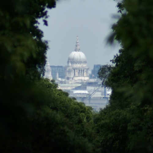 A Famous Vista of St Pauls Cathedral from Richmond Park- Photograph No2
