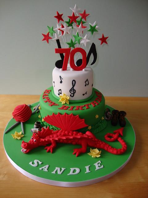 Cake Design For Ladies Birthdays : Flickr - Photo Sharing!