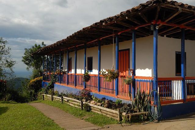 Imagen de una Finca Cafetera Típica en Buenavista, Quindio