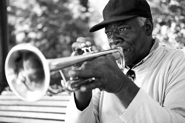 Seattle Street Musician por Ben Mund