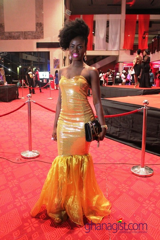 MzVee at 2014 Ghana Music Awards