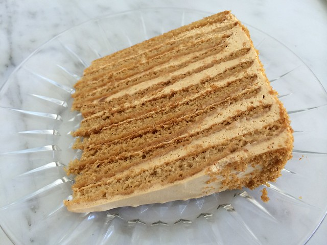 Russian honey cake - 20th Century Cafe