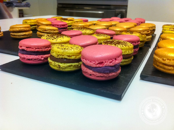 Learning to Make French Macarons in Paris - Colorful Macarons