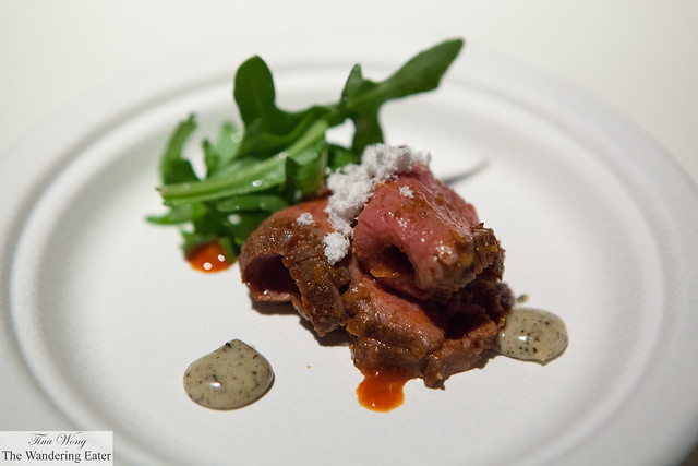 North African spiced lamb loin by Minton's (at VIP Lounge)