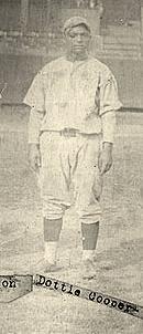 Cooper with Harrisburg, 1926.