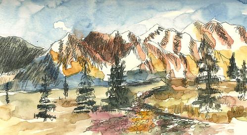 View from bus, Denali National Park, Alaska