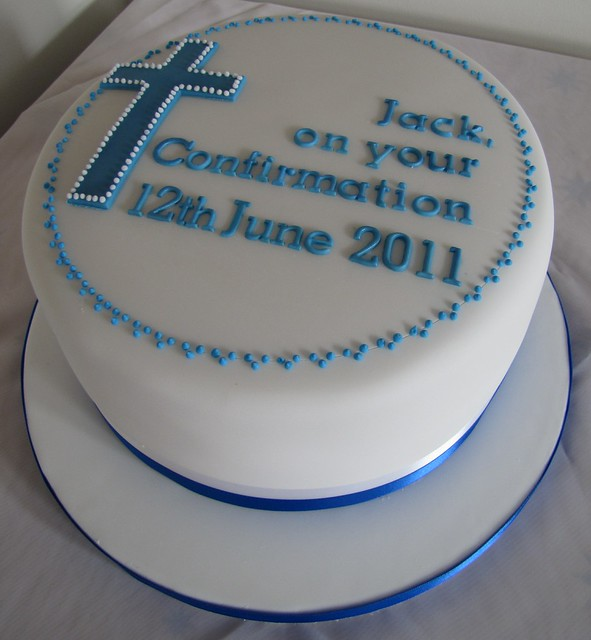 Boy s Confirmation Cake Flickr - Photo Sharing!