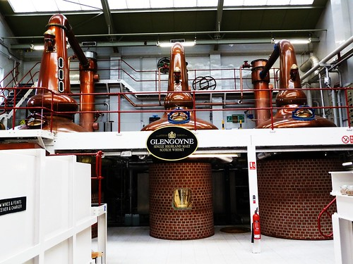 Stills at Glengoyne Distillery