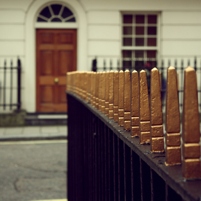 Square fence composition