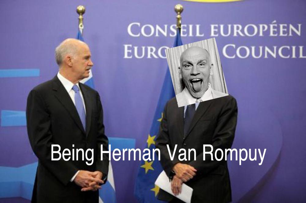 BEING HERMAN VAN ROMPUY