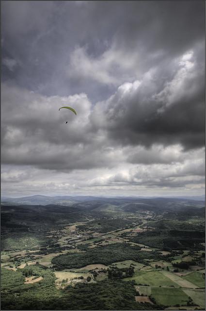 Parapente desde el Mirador de Valcabado - Revilla de Pomar (Palencia)