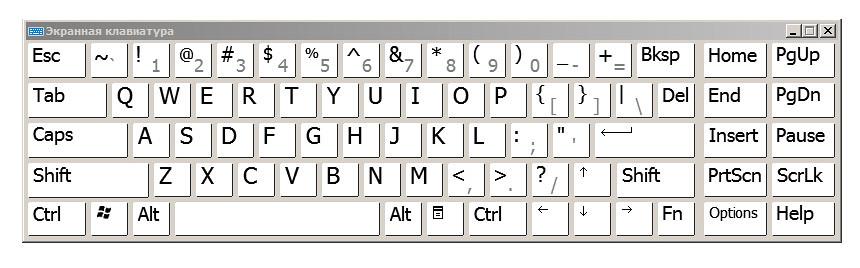 А вот правильная клавиатура