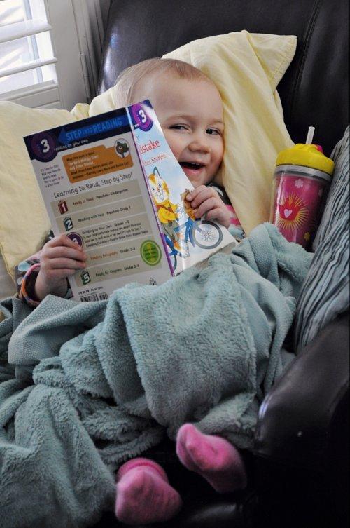 Lola reading 1