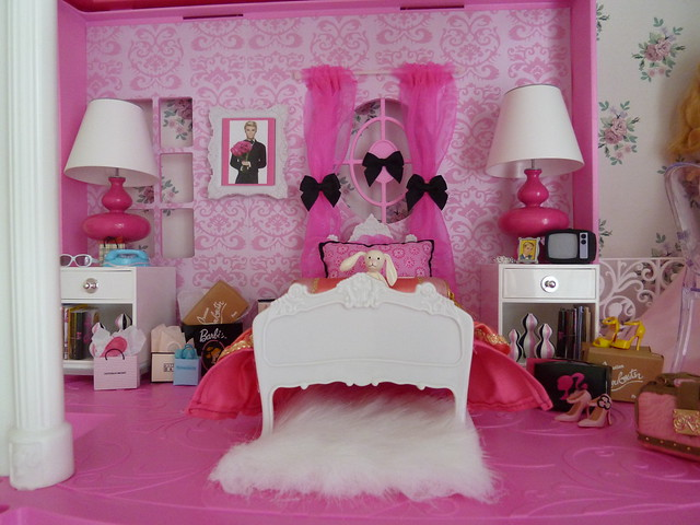 barbie dreamhouse bedroom flickr photo sharing