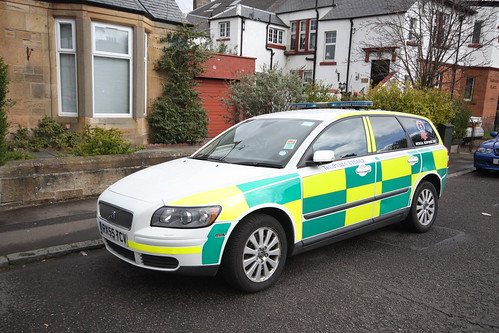 RX55 TCV VOLVO V50 ESTATE ABC AMBULANCE SERVICES FALKIRK