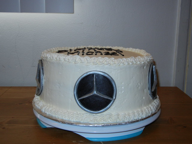 Mercedes Benz Logo Birthday Cake Flickr Photo Sharing