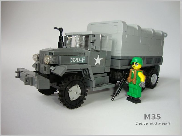 "M35 truck ""Deuce and a Half"" (2)"