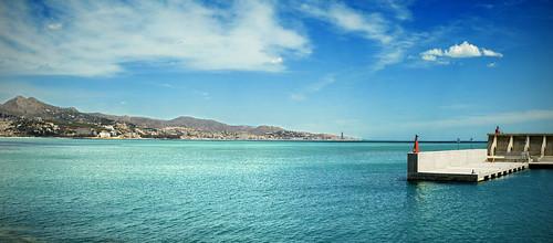 El Palo desde el puerto (Málaga) --Explore 2012-04-21 #272--