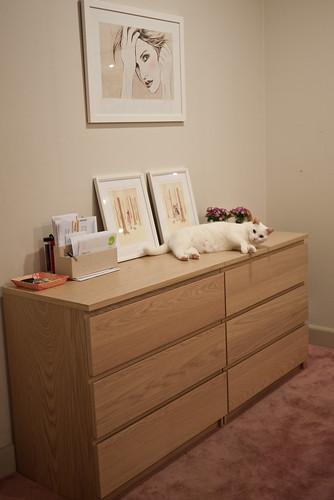 Shoe cupboard lounger