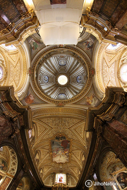 Ceiling of Sant'Antonio dei Portoghesi