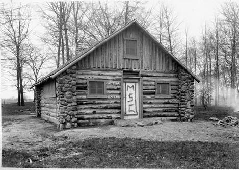 The log cabin for the Women's Athletic Association | Flickr