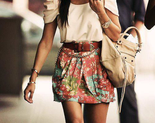 unknown floral skirt