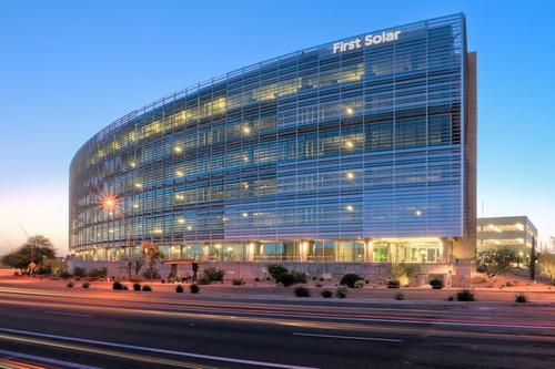 Штаб квартира First Solar в в Темпе, штат Аризона
