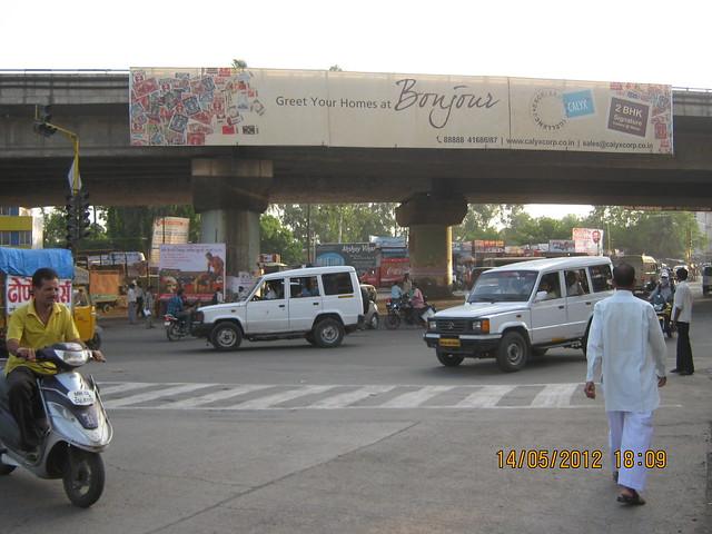 Mumbai Bangalore Highway Warje Flyover - Visit Suyog Aura Warje Pune 411052