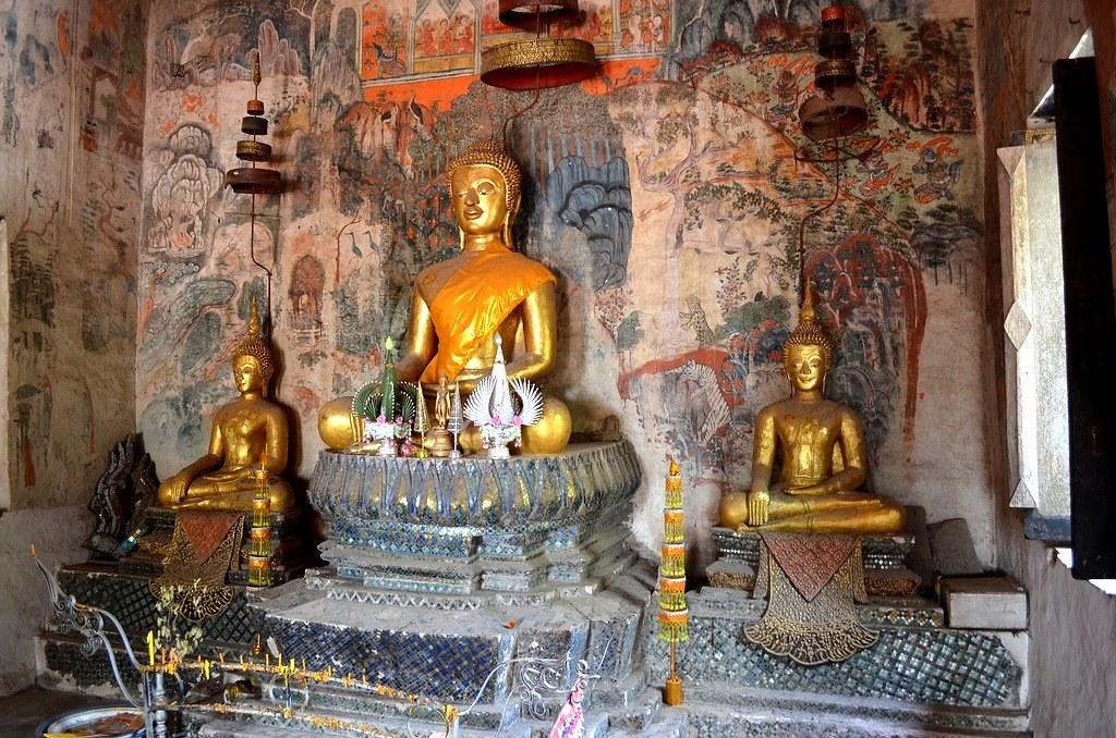 Unrestored temple, Laos