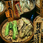 All things pickled, in barrels - Nishiki market, Kyoto #Japan #dna2japan #gadv
